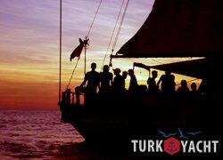 услуги аренды яхт в турции